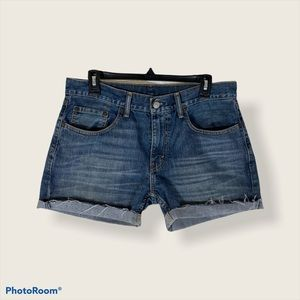 Levi's 559 Cut off Jean Unisex Shorts